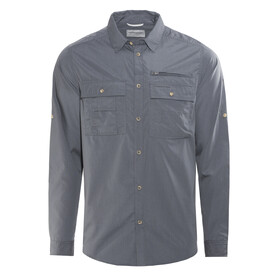 Craghoppers Adventure Trek Longsleeve Shirt Men Ombre Blue